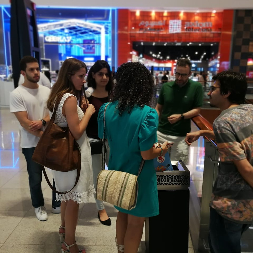 Mall Walk + Waste Audit