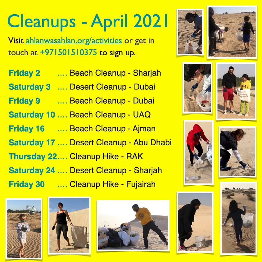 Cleanup Hike - Ras Al Khaima