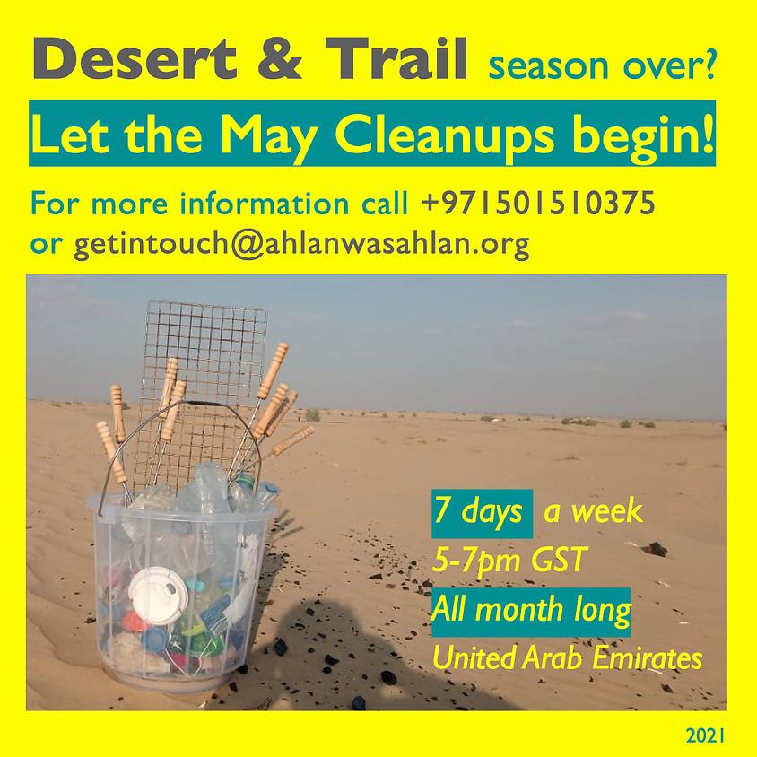UAE Intensive Desert/Trail Cleanup Program May 2021
