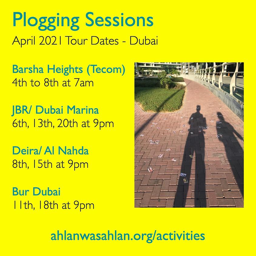 Plogging Session - JBR/ Dubai Marina