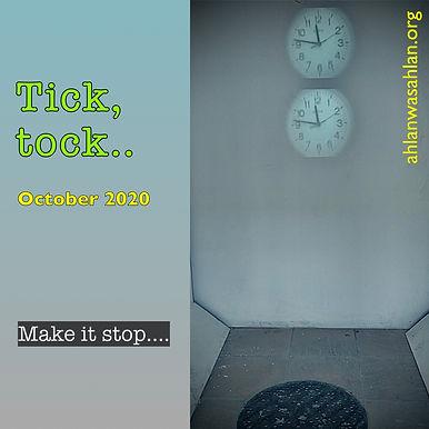 Tick Tock: Make it stop!