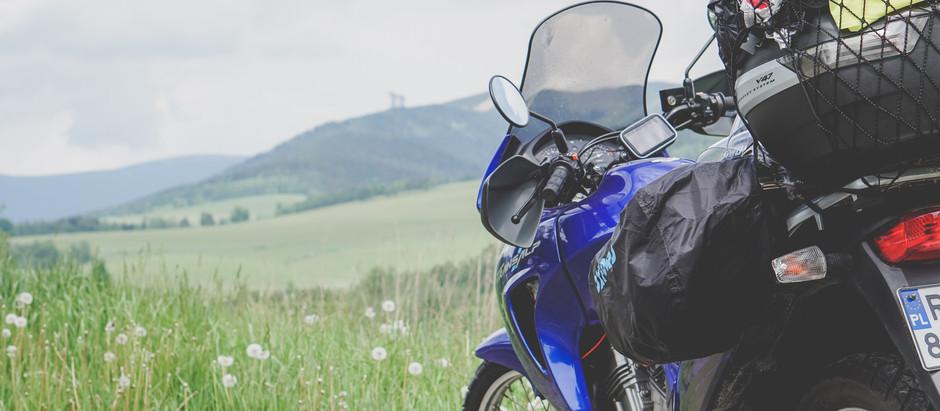 Czechy motocyklem