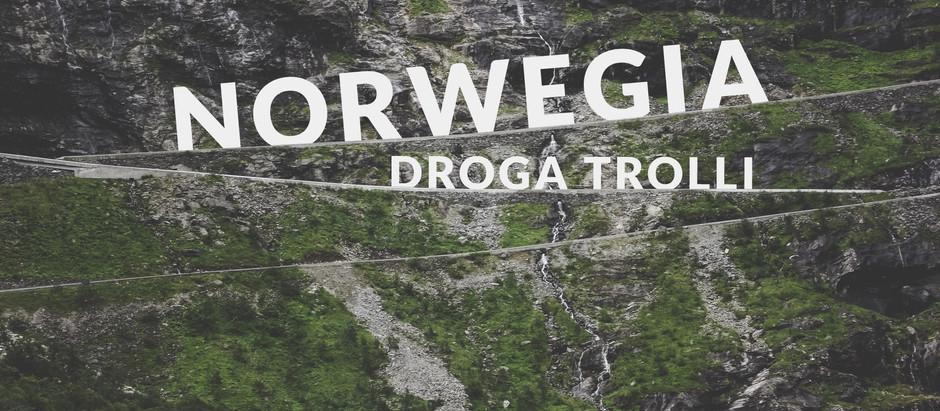 Norwegia - Droga Trolli