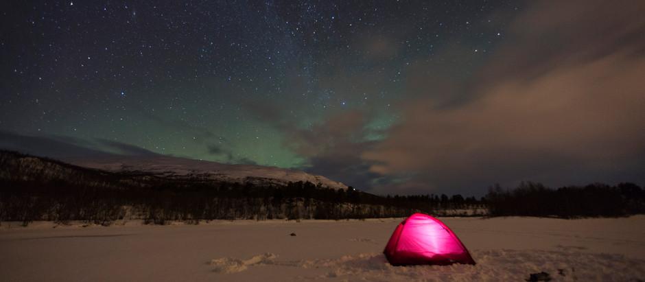 Szwecja - Zorza polarna
