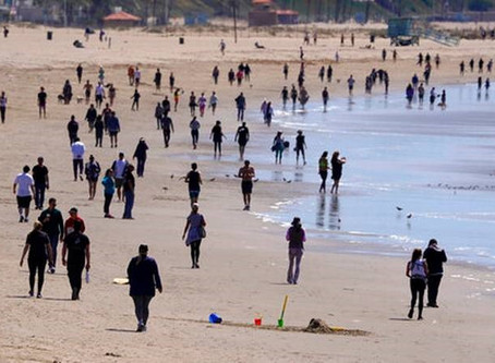 Why people are still crowding the beach during Coronavirus