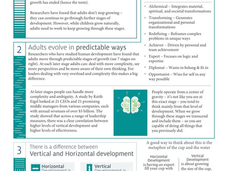 2 Page: Vertical Leadership Infographic