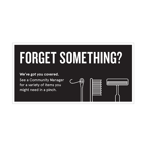 Forget Something
