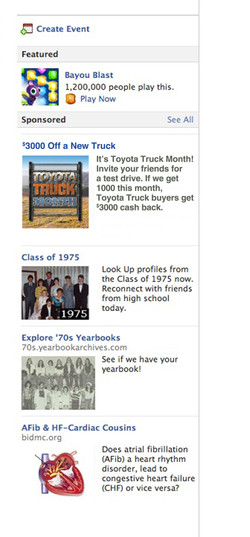 FACEBOOK AD TEST DRIVE TRUCK MONTH
