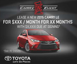 CAMRY ONE EVENT