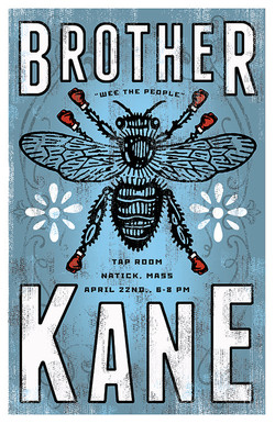 BROTHER KANE POSTER a former blues rock band based in the Boston area.