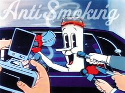"""ANTI-SMOKING """"MR. BUTTS"""" TV"""