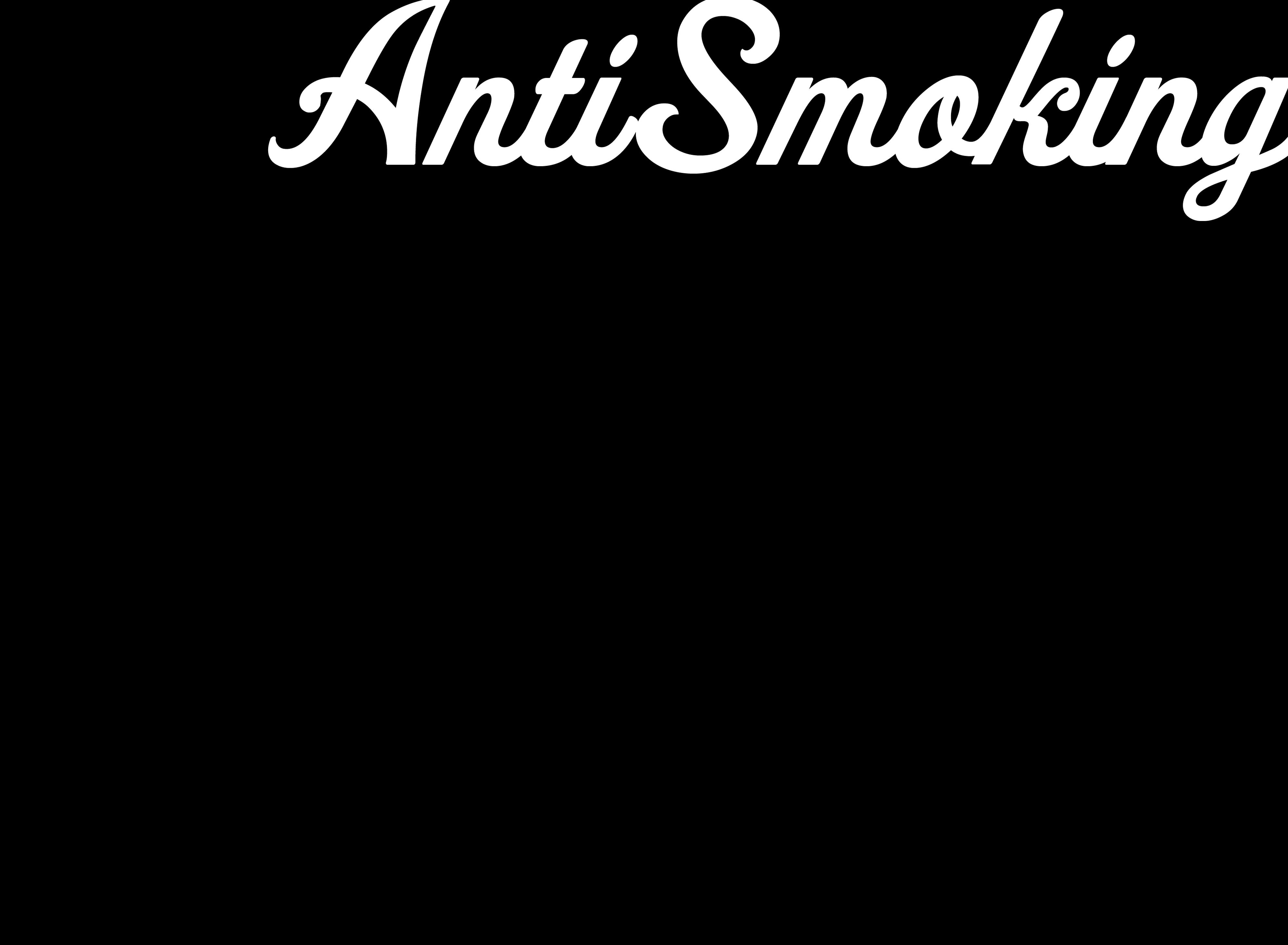 ANTI SMOKING w titles LRG