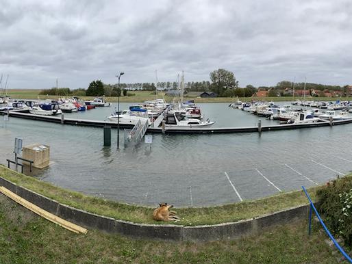High tide 'Stavenisse harbour'