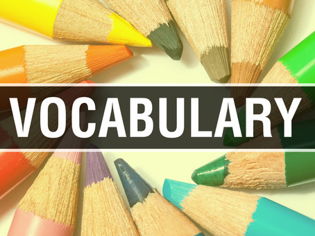 Vocabulary--A Critical Part of Reading
