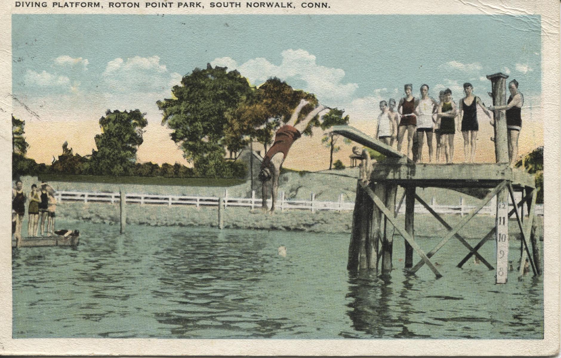 Roton Point diver postcard Lisas 2017-04-11 001
