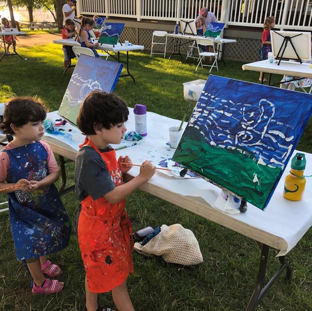 Kids painting Van Gogh LWG.jpg