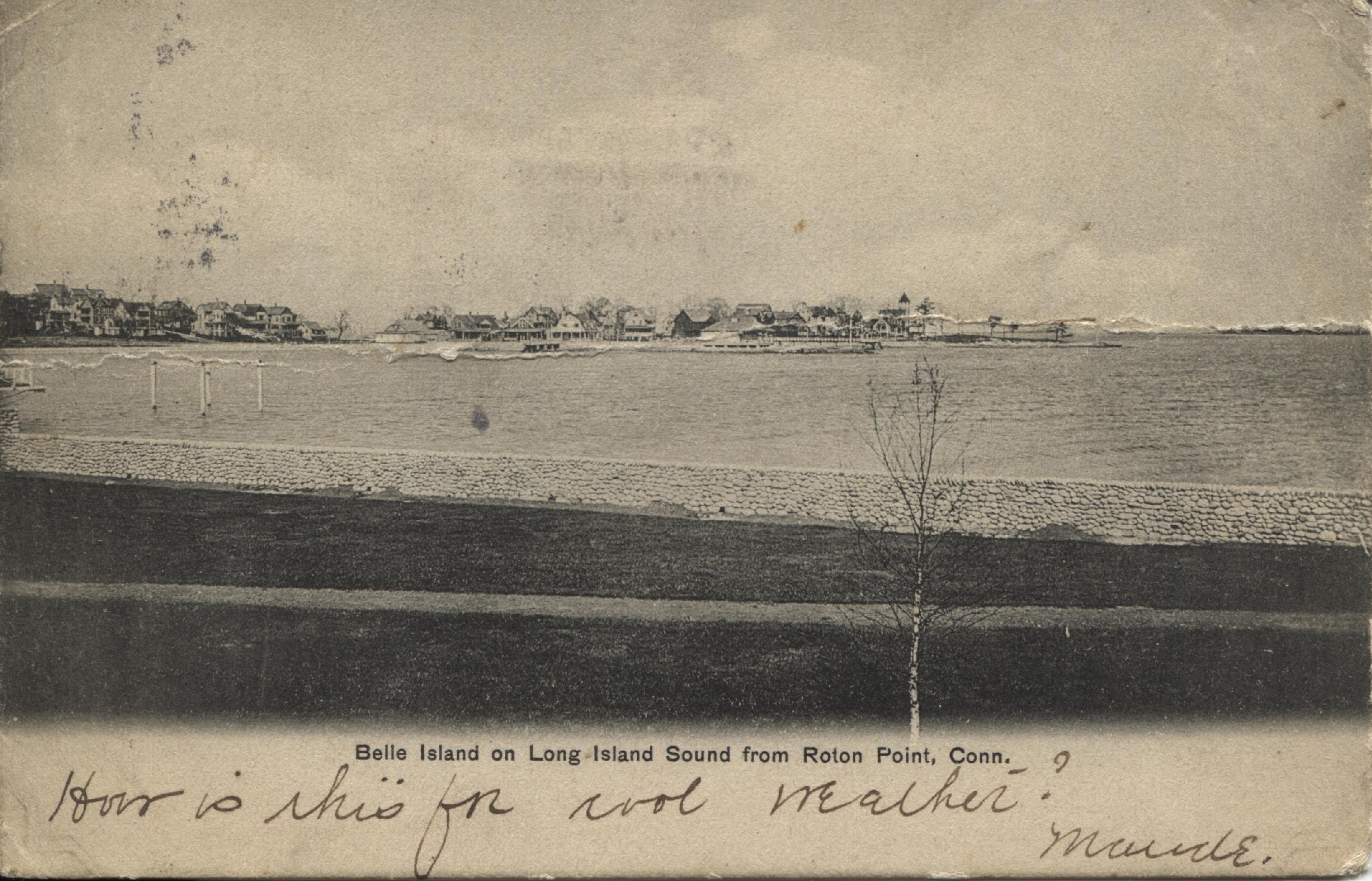 65.19.10 PostCard of Bell Island