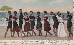 Roton Point Bathers postcard 1906 70.36.103 (2)