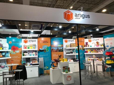 Artigus apresenta mais de 200 produtos criativos na Brazil Promotion