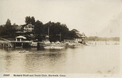 Hickory Bluff  and Norwalk Yacht Club post card 001 (2)