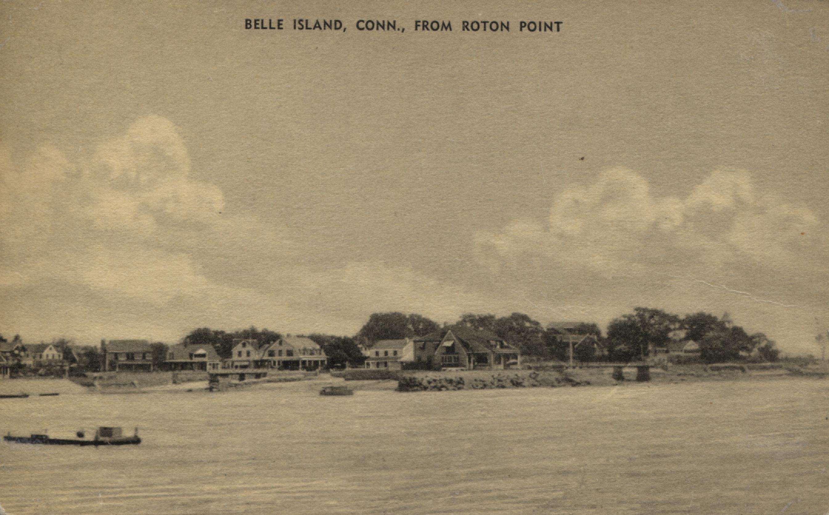 61.14.5 Postcard of Belle Island