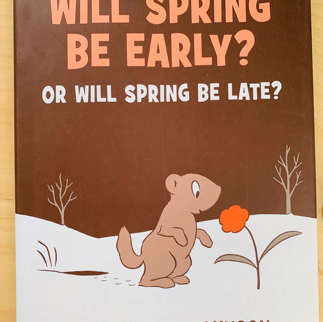 Will Spring Be Early? Crockett Johnson