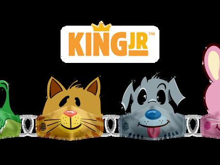 King Jr ganha máscaras de proteção na nova campanha do burguer king