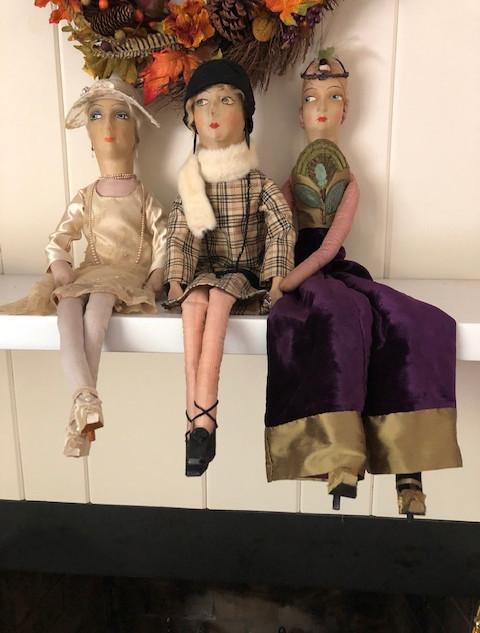 Penny Havard's doll clothes