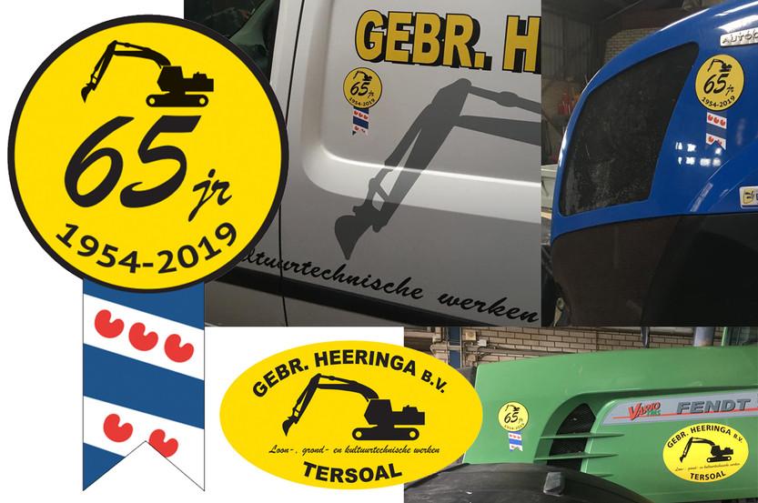 Stickers Geb. Heeringa