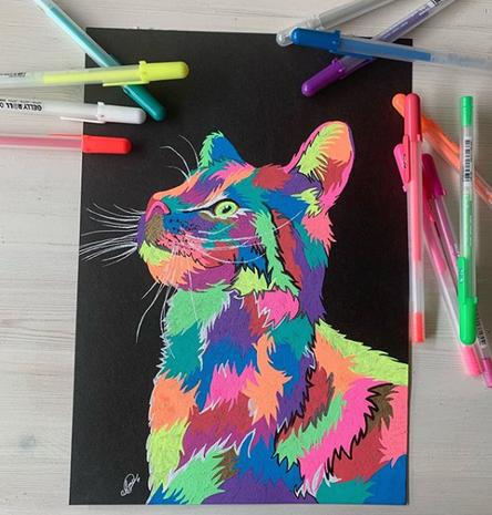 Gellyroll moonlight Cat