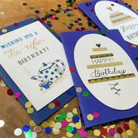 verjaardagkaartjes set