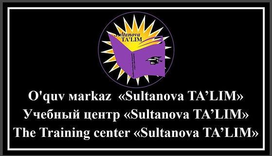 Sultanova Talim Logo