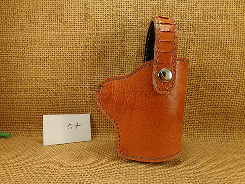 1911 Ostrich Leg Leather Holster No.57