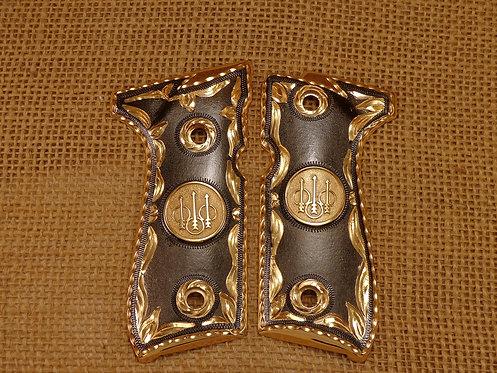 No.67 Beretta F92 with Saint Jude Gold Plating