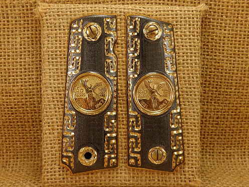 No.11 Centenario 10kt Laminated Gold Coin