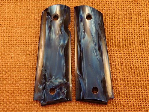 1911  Acrylic Blue Pearl Grips