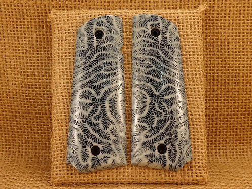 1911 Full Size Brain Coral Grips( No. 3 )