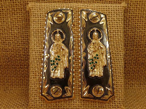No.16 San Juditas  Gold Plated