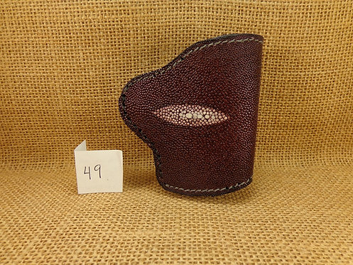 1911 Holster Stingray Leather No. 49