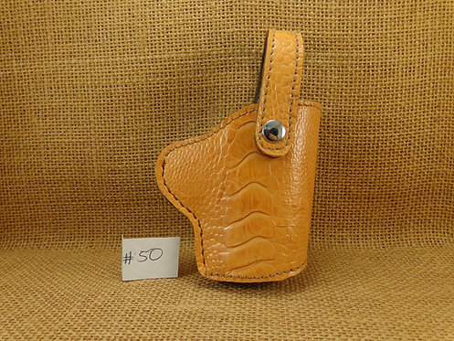 1911 Ostrich Leg  Leather Holster No.50
