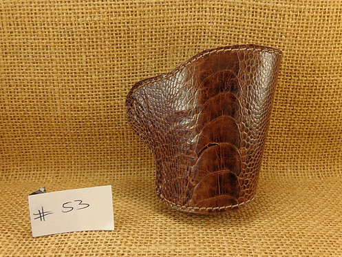 1911 Genuine Ostrich Leg Leather Holster No. 53
