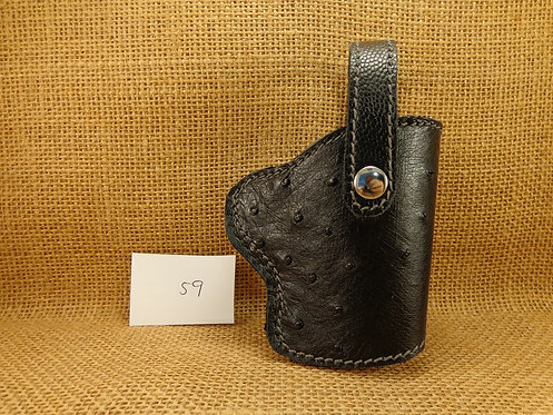 1911 Genuine Ostrich Leather Holster No.59
