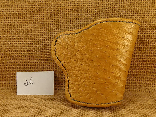 1911 Holster Hand made exotic Ostrich leather No. 26