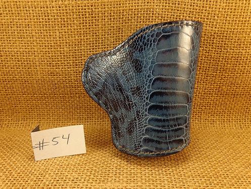 1911 Genuine Ostrich Leg Leather Holster No. 54