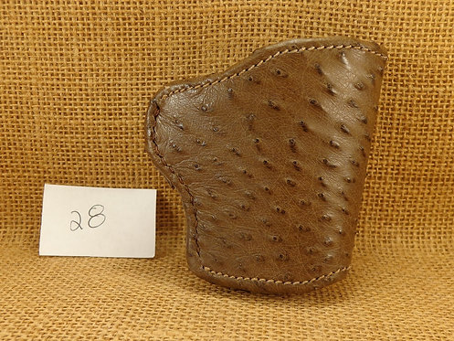 1911 Genuine Ostrich  leather Holster No. 28