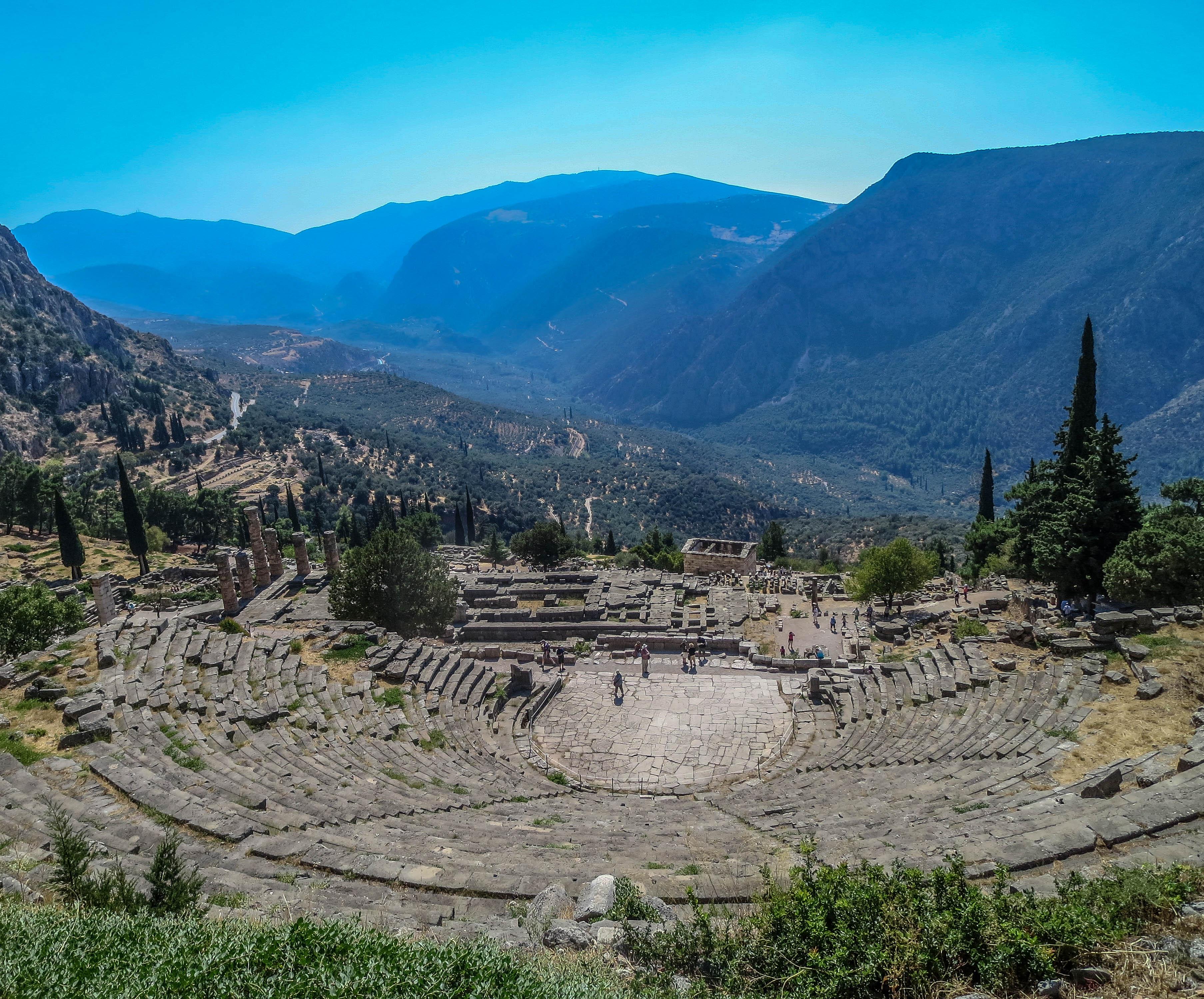 Delphi Oracle Ruins