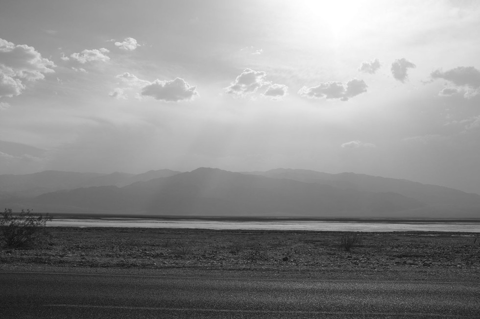 Light in Death Valley