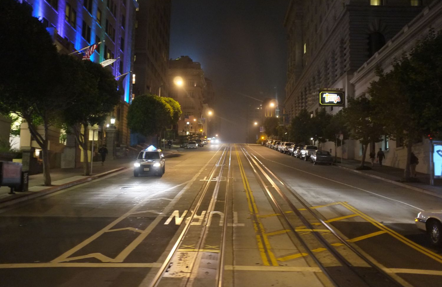 A night in San Fransisco