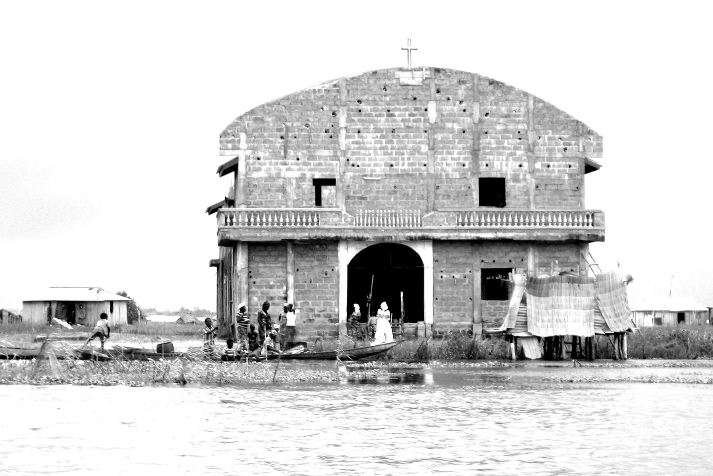 Church on the water - Ganvié - Africa