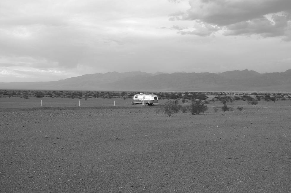 caravan. death valley